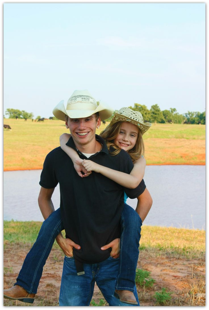 Brother and sister photo idea