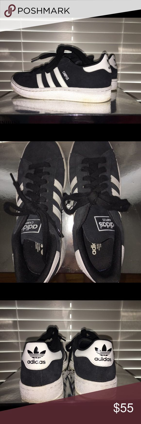 Adidas Campus Sneaker Very good condition adidas campus shoes! Great for everyday and super comfortable. Only worn a few times #adidas #adidasshoes #adidascampus #adidassneakers Adidas Shoes Athletic Shoes