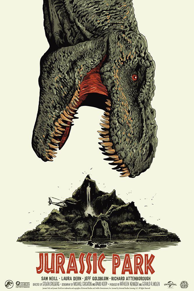 Francesco Francavilla Jurassic Park