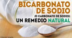 El Bicarbonato de sodio también conocido como carbonato, no solo es útil para hornear sino también para usos del hogar y medicinal.