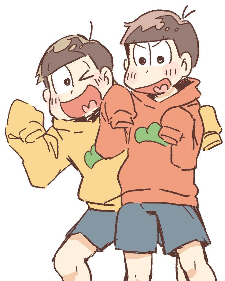 「おそ松さんらくがき」/「柑橘(ば)」の漫画 [pixiv]
