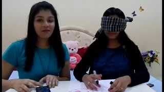 """Hey Emoz...  Here is d next part of our """"KNOCK OUT SERIES"""" and it is the Blindfolded Drawing Challenge. In these videos we will be challenging each other n u can also recommend us which challenge u want us to do.  Hope u ol wil like dis video... Keep watchng n do stay wid us by subscribng to our channel....  Follow us on TWITTER : https://twitter.com/DZrandomzz FACEBOOK : https://www.facebook.com/DZrandomzz INSTAGRAM : https://instagram.com/DZrandomzz"""