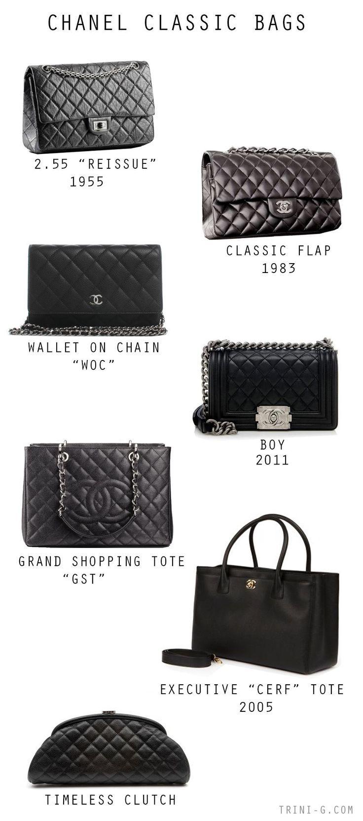 Chanel klassische Taschen