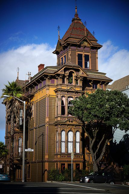 1195 best victorian houses images on pinterest for Home in san francisco