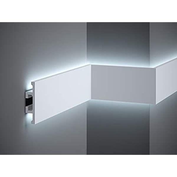 Amazon De Stuckleiste Wandleiste Deckenleiste Lichtleiste Fur Indirekte Led Beleuchtung El302 In 2020 Indirekte Beleuchtung Beleuchtung Led Beleuchtung