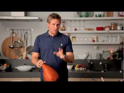 How to make Peach & Rum Glazed Ham with Curtis Stone - Coles - YouTube