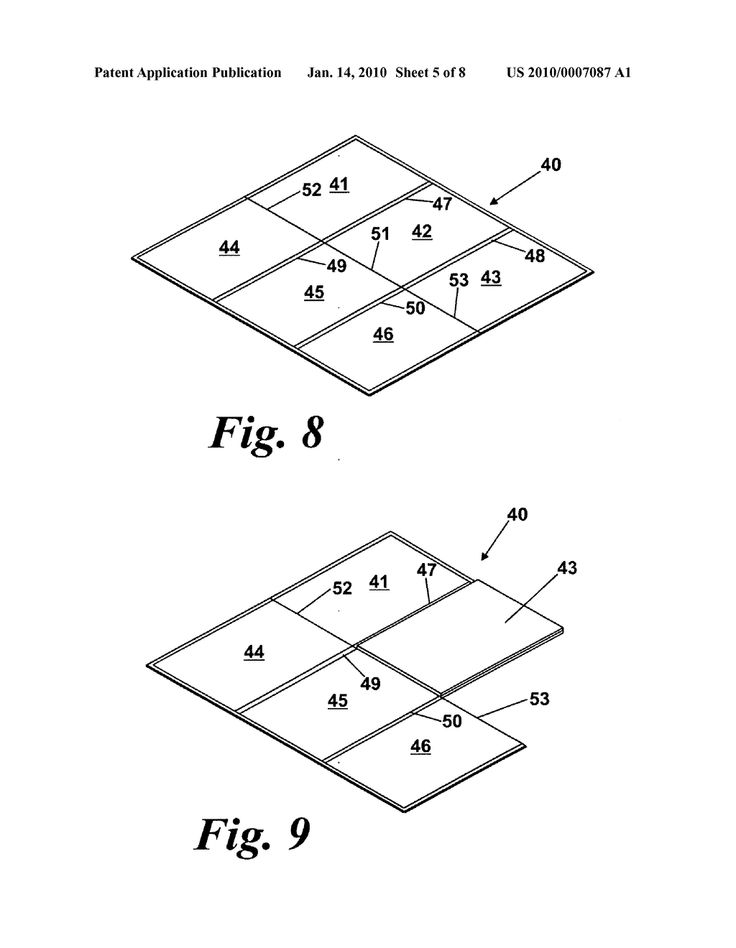 Six fold game board and method of folding game board - diagram, schematic, and image 06