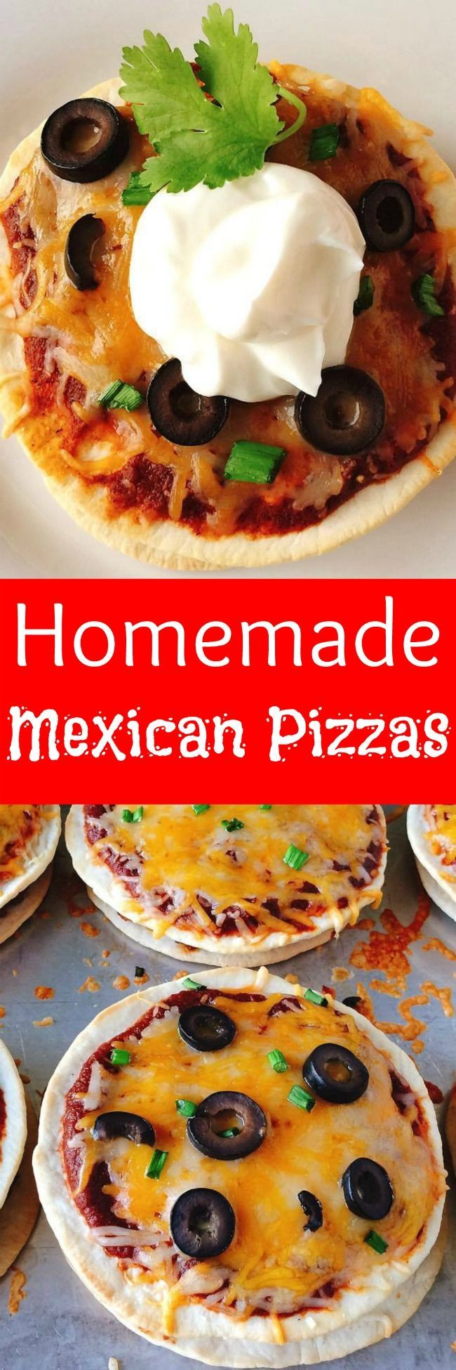 Easy & quick copycat Taco Bell Mexican Pizzas your family will love!