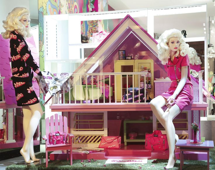 LUISAVIAROMA Shop Window October 2014 #moschino #barbie