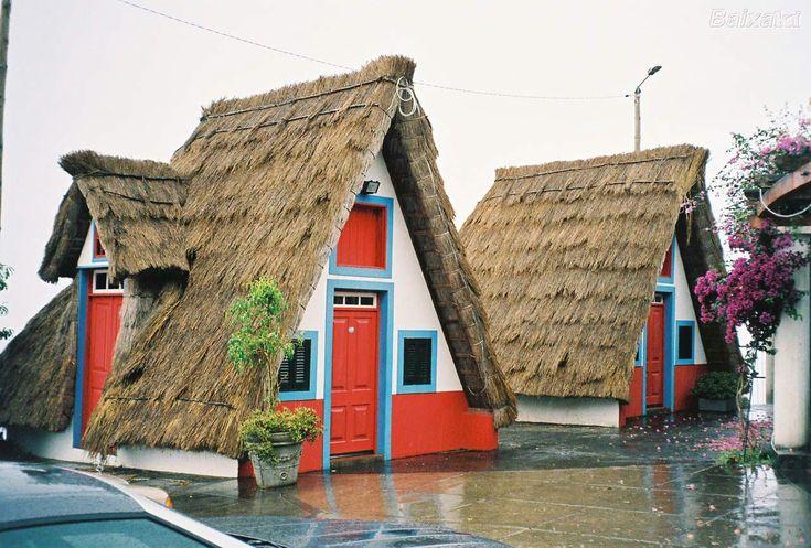 Casa de palha de Santana, Madeira / Traditional thatched