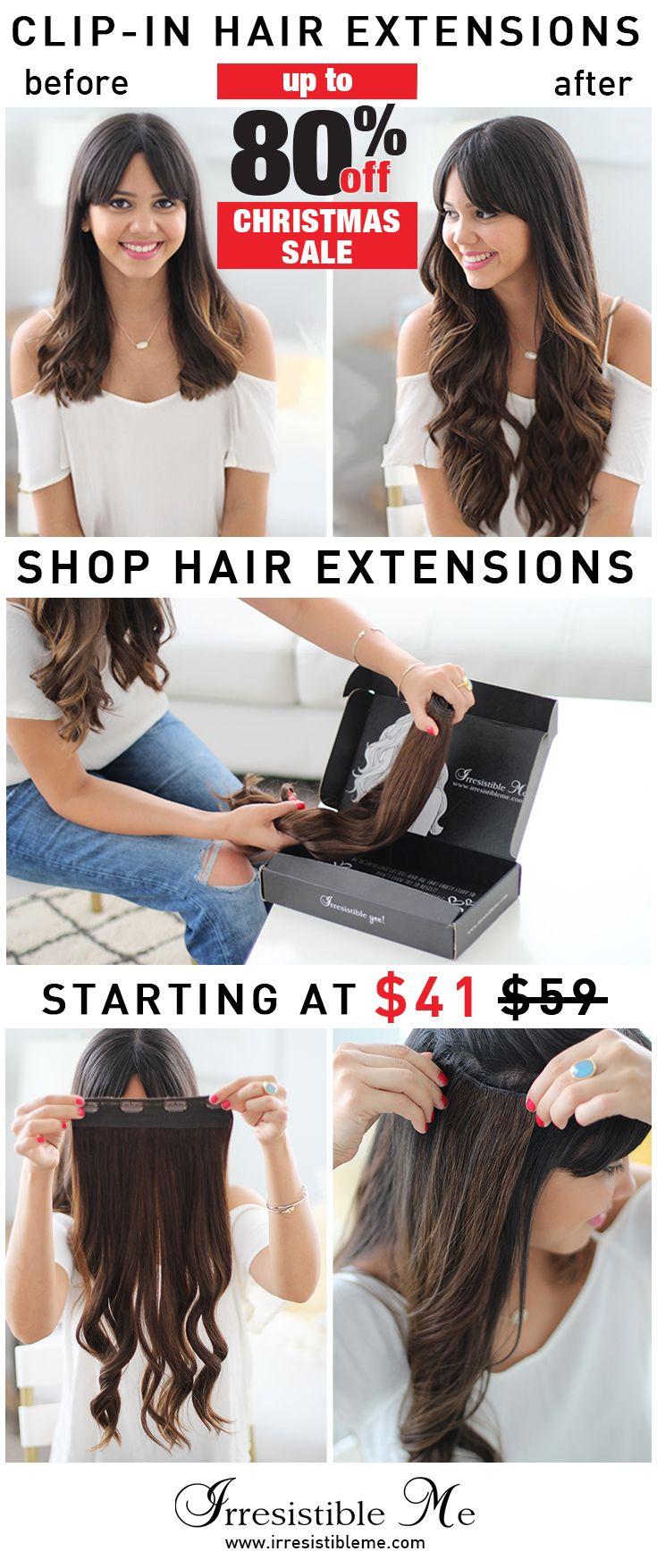 487 best irresistible me clip in hair extensions images on make a dramatic hairstyle change with irresistible me 100 human remy clip in hair extensions pmusecretfo Image collections