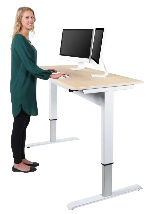 Pneumatic Adjustable Height Standing Desk Adjustable Height