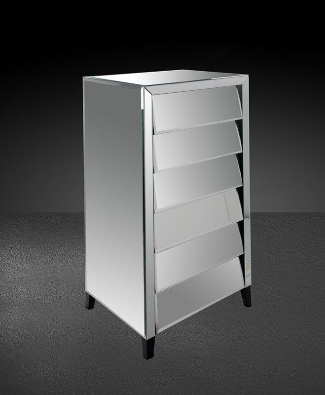 modern mirrored furniture. 425 roanoke modern mirrored bedroom chest furniture