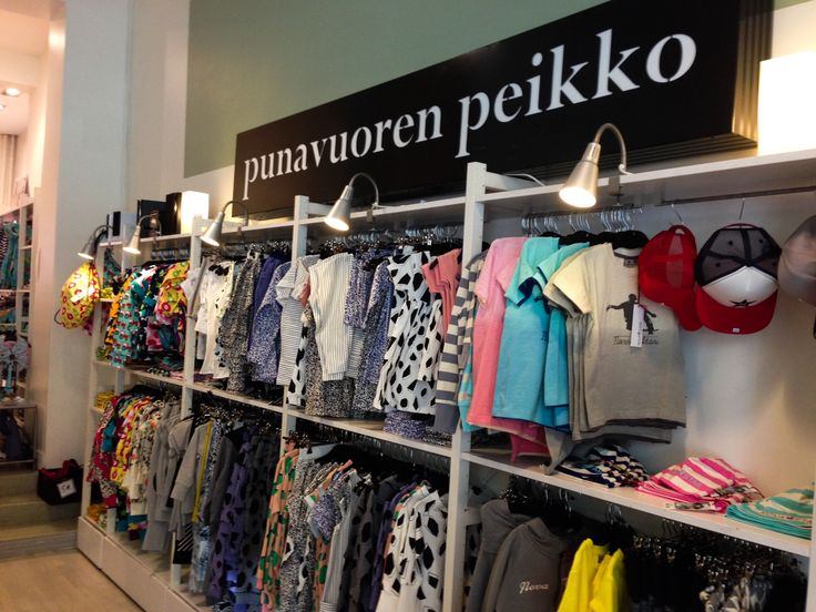 Punavuoren peikko was founded in 2006. From the very beginning the main idea was to deliver designer clothes for stylish kids. Most of our products are made of either eco certified or Oeko-Tex Standard certified materials. Photo: Elina Pitkänen. #Finland #Helsinki #Clothing #Store #Punavuorenpeikko #Kids www.visithelsinki.fi