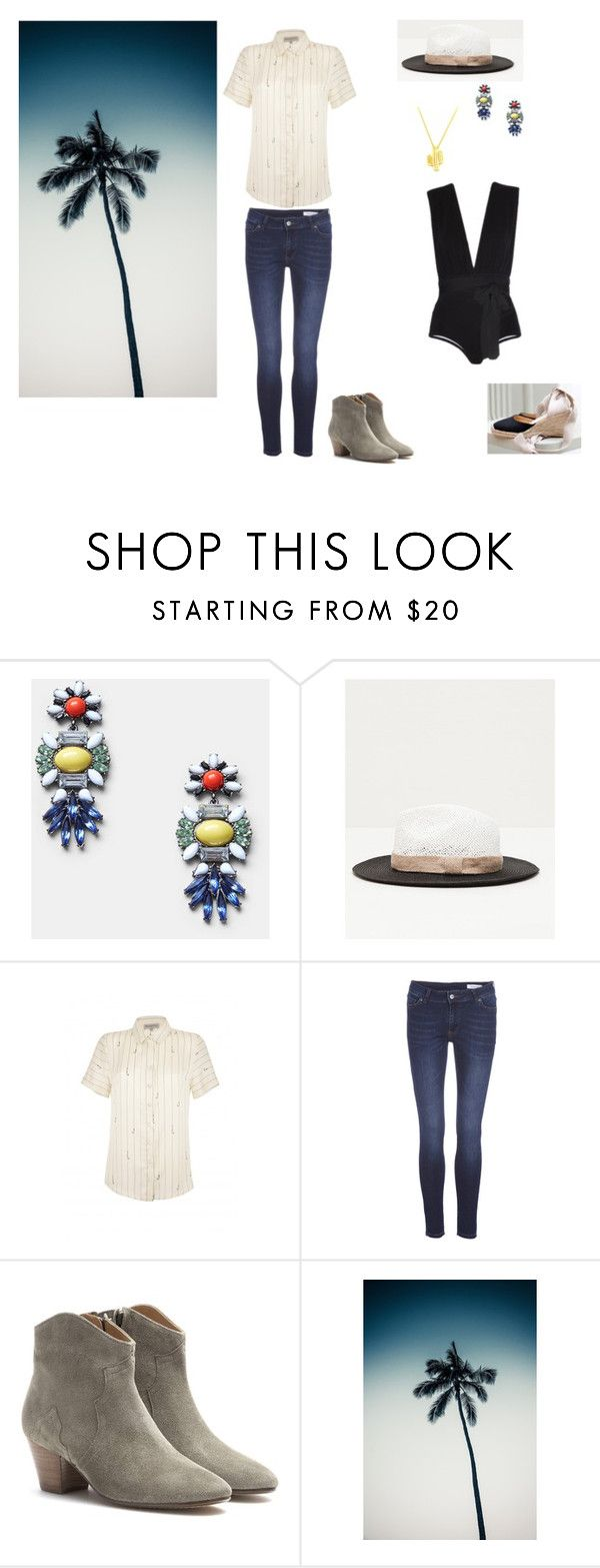 """""""DREAM ABOUT SUMMER"""" by jenny-kate-1 on Polyvore featuring mode, MANGO et Isabel Marant"""