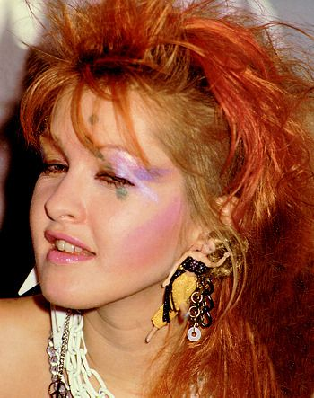 The 80's were a colorful time! Take a look at our blog post that was inspired by Cyndi Lauper's 80's makeup <3