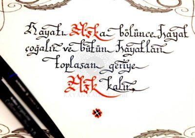 #hayat #ask   👍  | ➡  | 📝    🔹 https://facebook.com /rayankalligraphie 🔸 http://rayankalligraphie.de      #kalligrafi #kalligraphie #kalligrafie #calligraphy #callygraphie #art #sanat #kunst #budageceryahu #rayankalligraphie #moderncalligraphy #brushcalligraphy #calligraphyph #calligraphyart #arabicCalligraphy #calligraphymasters