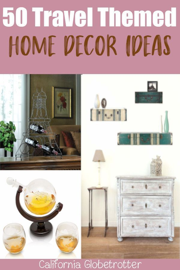 50 Home Decor Travel Inspired Accessories Adventure Decor Home Decor Travel Inspired Decor