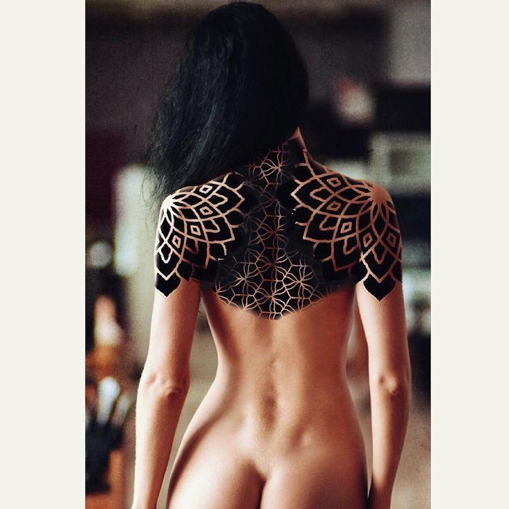 Mandala back piece.