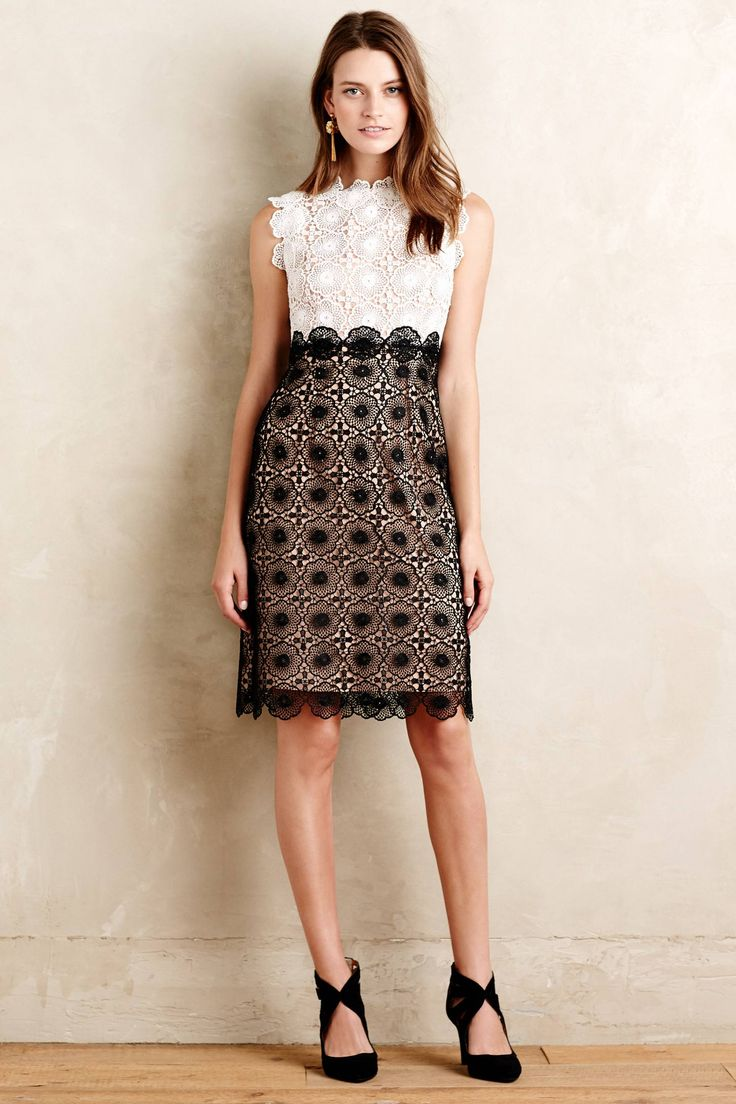 Concerto Lace Dress - anthropologie.com