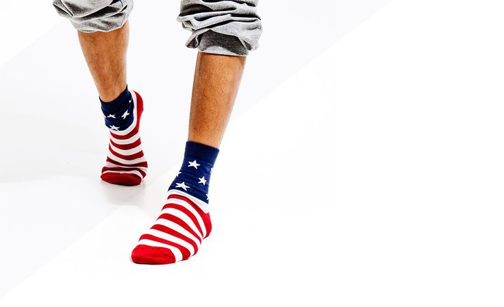 Crew socks New York  US flag men socks fashion  men fashion