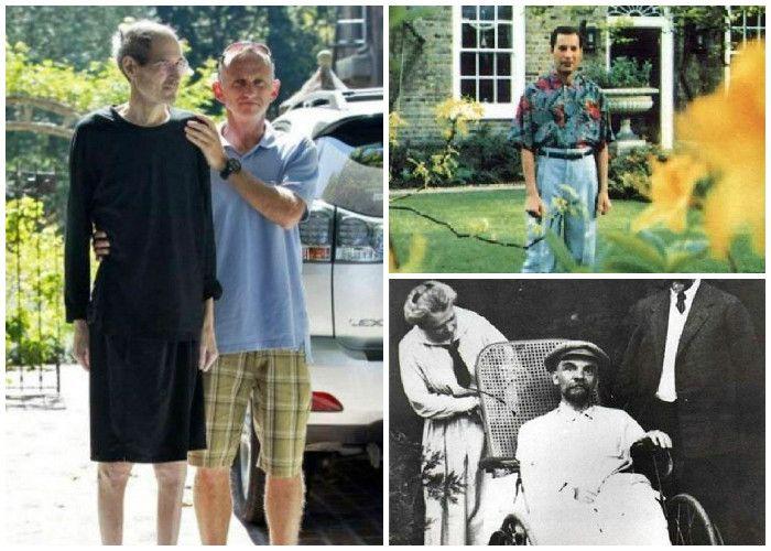 Steve Jobs, Freddie Mercury, y Lenin padecieron largas enfermedades que terminaron cambiando drásticamente su apariencia. Así se vieron en sus últimos días