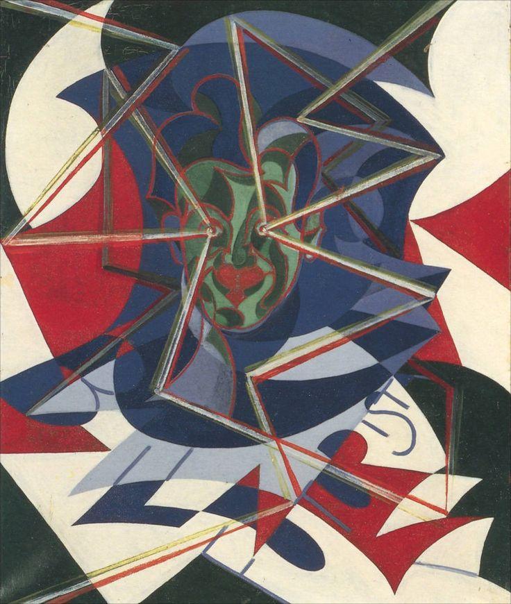 Giacomo Balla · Three-Color Self Portrait · 1927 · Unknown location