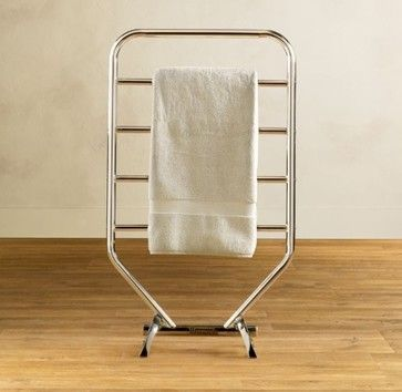 Traditional Towel Warmer - modern - towel bars and hooks - - by Restoration Hardware