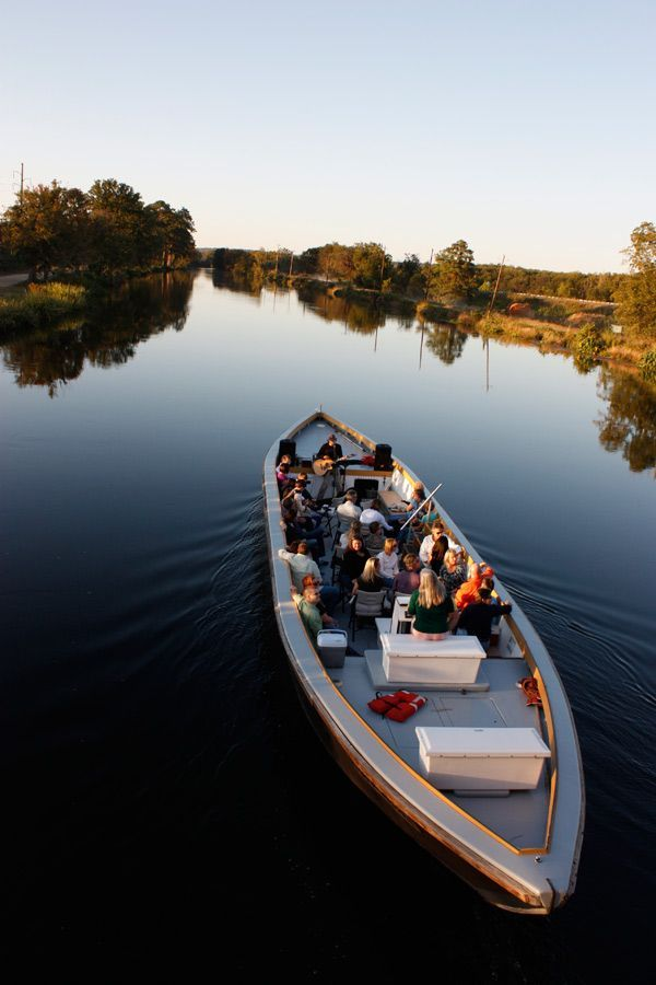 An Augusta Canal tour boat with musicians on board, Augusta, Georgia. Boat  tours are perfect for a fun, musical date while a visit to the Augusta  Canal ...