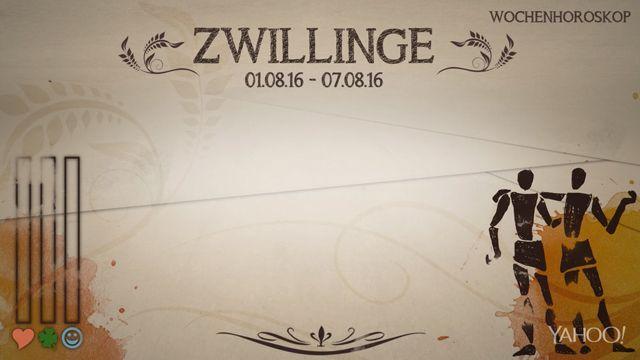 Wochenhoroskop: Zwilling (KW 31 - 2016) - So stehen deine Sterne Kinder Wochen vom 1. - 7.8.2016 #Horoskop #Zwilling #Liebe #Gesundheit #Job