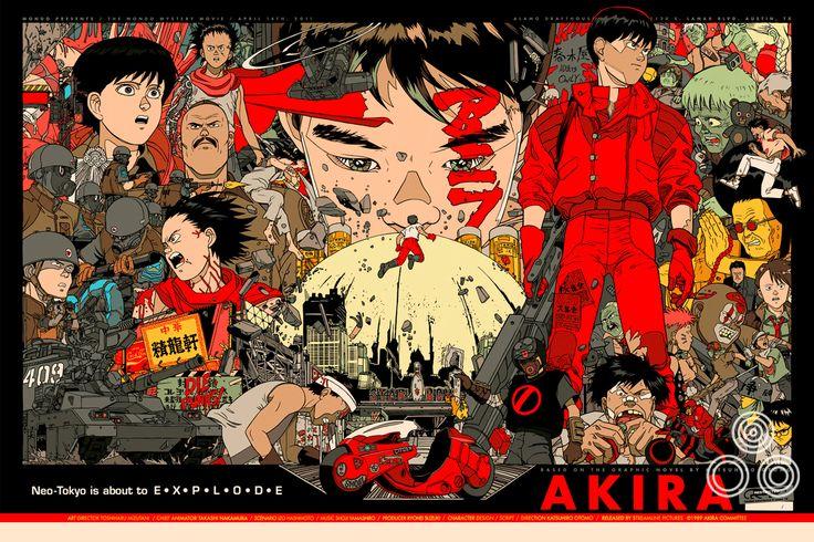 Akira Movie Poster
