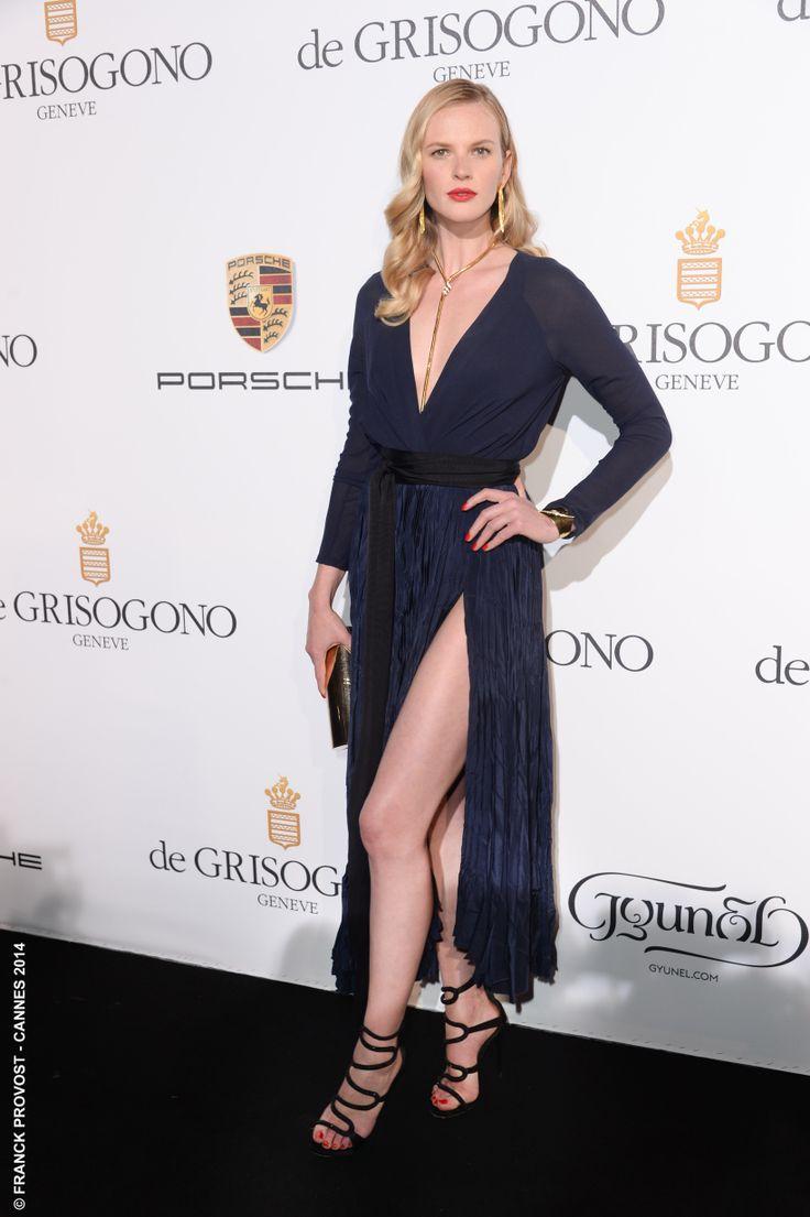 La très jolie top model Anne V hier à la soirée De Grisogono. Mise en beauté #franckprovost ! #Festival #Cannes #Croisette #Hair #FranckProvost #Glamour #Cannes2014 #FPCannes2014