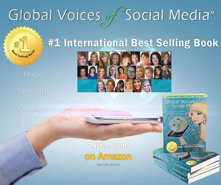 Global Voices of Social Media ™ is available on Amazon through out the month of #March for only 99 cents in honor of #WomensInternationalMonth .  Looking for a wonderful, affordable GIFT to share with a women friend, family or associate who has helped you or your business?