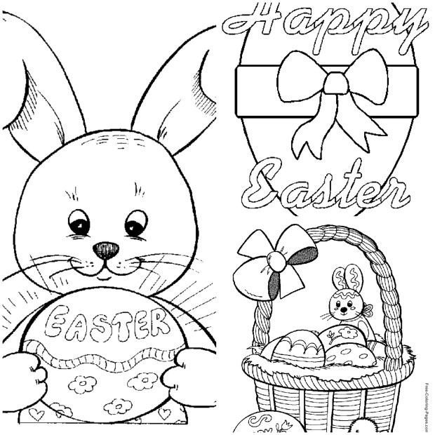 Keep your kids busy during Easter break with these FREE Easter Coloring Pages! See all the options at Grocery Shop for FREE!