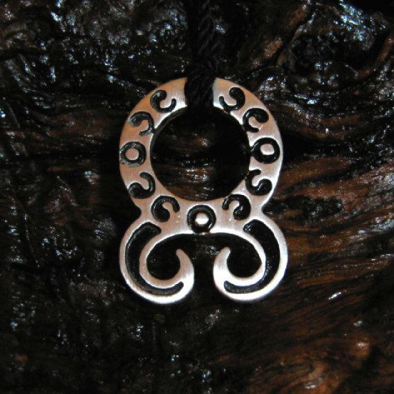 """-Troll cross Amulet - Measures: 2,6 x 3,8 cm, thinkness 3mm ( 1"""" x 1,5 """" , thickness 0,12 """" ) Materials: Tin \Silver ( ! Lead-free \Nickel-Free ! )"""