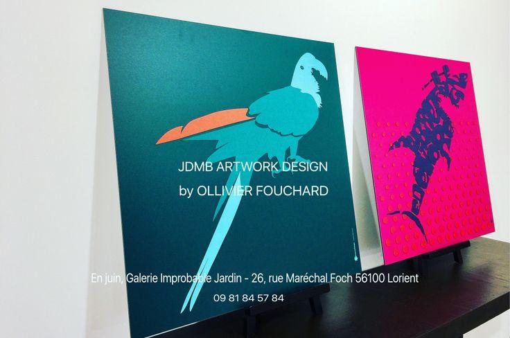 «QUAI DE PERROS» JDMB ART WORK DESIGN 2017 – Série limitée 5 ex «SURF QUI PEUT» JDMB ART WORK DESIGN 2017 – Série limitée 5 ex Œuvre en relief sur Aluminium- ft 56×56 cm OLLIVIER F…