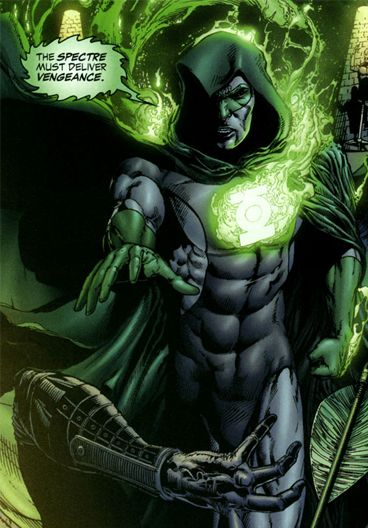 Hal Jordan as the Spectre