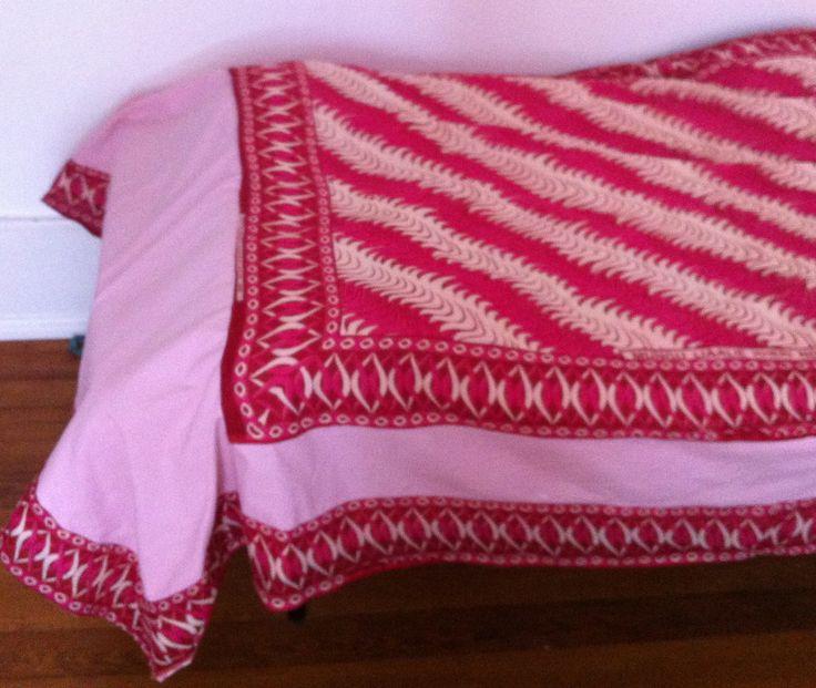 Zanzibar bedspread