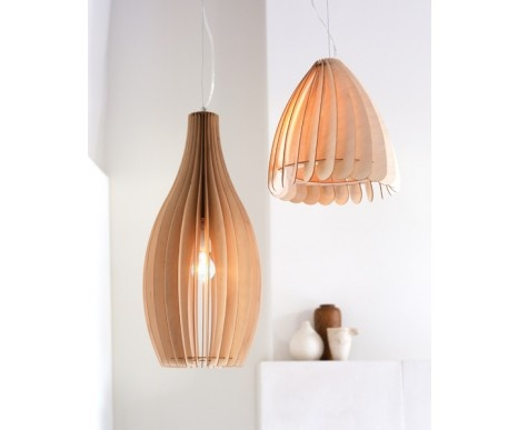 Love the simplicity of these pendants, but they might be too easily broken ...