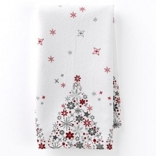 Food Network Holiday Tree Kitchen Towels- sold at Kohl's this past Holiday.  If you see any I can reimburse you up to $3.00 a towel :o)