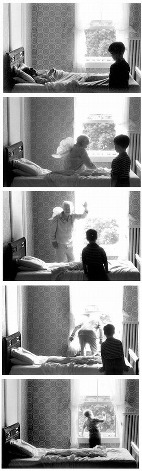 Les séquences photographiques de Duane Michals sequence photographie duane mickeals 05 photo art