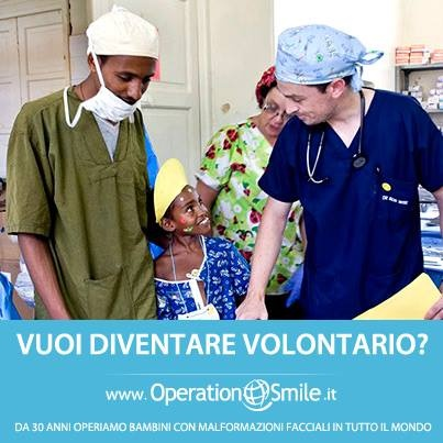 Senza i nostri #volontari nulla di quel che facciamo sarebbe possibile. Vi piacerebbe contribuire? Siete #medici, #infermieri o #operatori sanitari e vorreste partire in #missione? Collegatevi al nostro sito #donaunsorriso