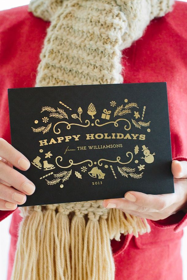 Minted Holiday Card Giveaway | Camille Styles