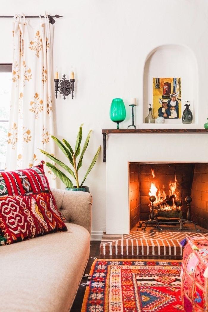 ▷ 1001 + ideen für moderne Wohnzimmer im 2018 Wohnzimmer Design - wohnzimmer orange beige