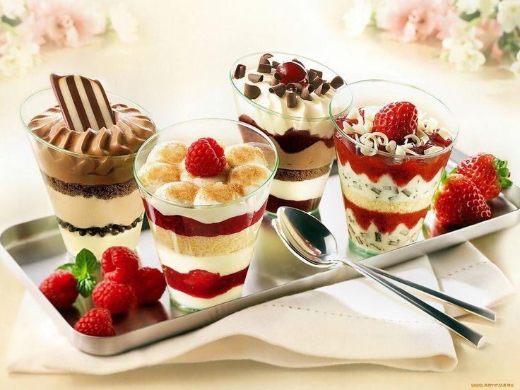 Десерты которые могут приготовить дети