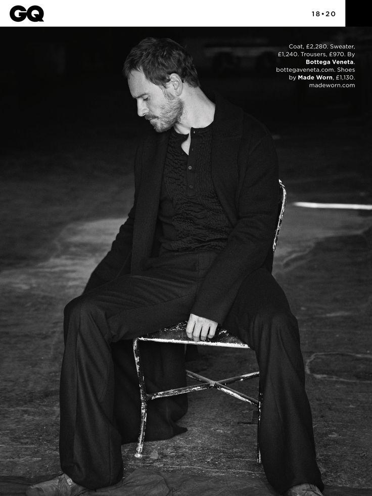 Michael Fassbender for British GQ - dec 2016