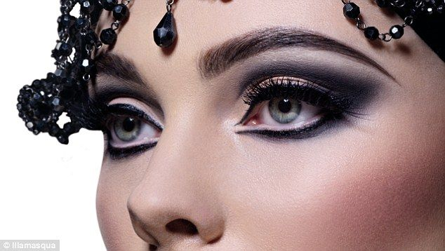 Stand out of the crowd: Dramatic eye make-up created by Illamasqua creative director, Alex Box