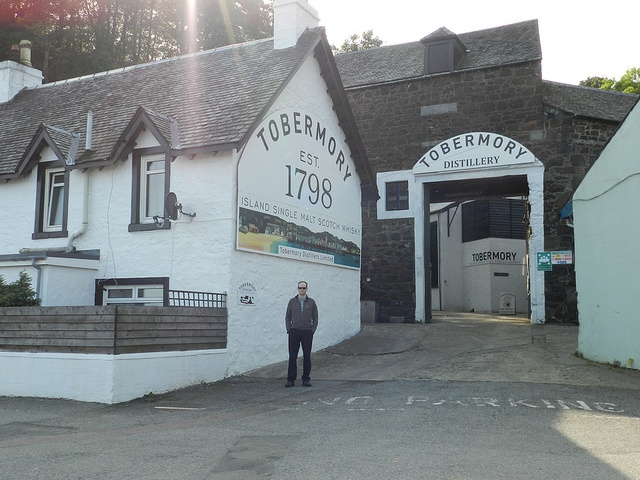 Tobermory Distillery on the Isle of Mull, Scotland