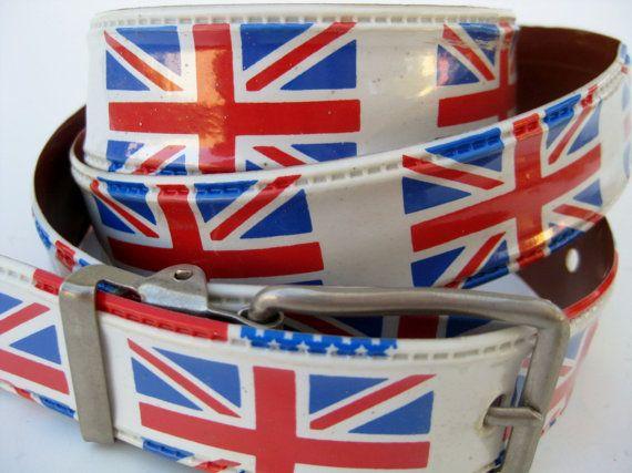 Vintage 60s Mod LONDON CALLING British Invasion Union Jack British ...