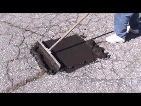 Repair Asphalt With Our ALLIGATOR ASPHALT REPAIR System - YouTube